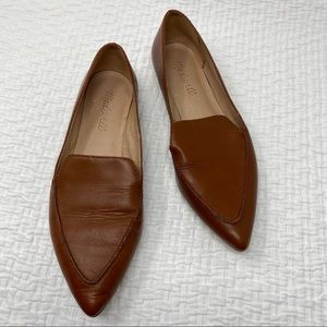 Madewell The Lou Loafer In Cognac SZ 6.5